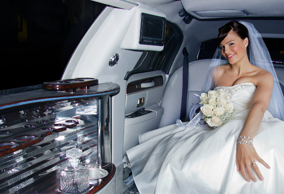 Car rental for weddings and events