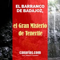 El Barranco de Badajoz, Tenerife