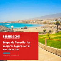 Tenerife: Mapa con los mejores lugares de la isla