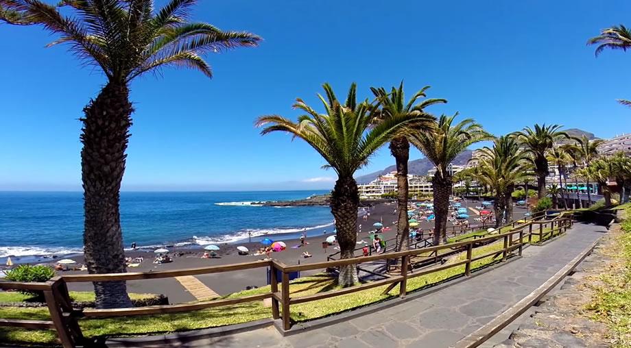 Paseo de Playa de La Arena, Tenerife