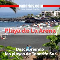 Playa de La Arena: Descubriendo las playas de Tenerife Sur