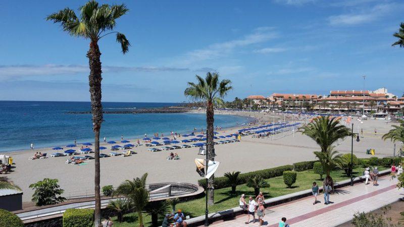 Tenerife Sur - Playa de Las Vistas
