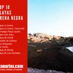 Top 10 Playas de arena negra de Tenerife: Un encanto singular