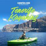 Tenerife kayaking ¡Una isla para la aventura!